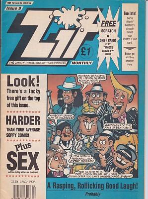 Zit Comic Issue 9